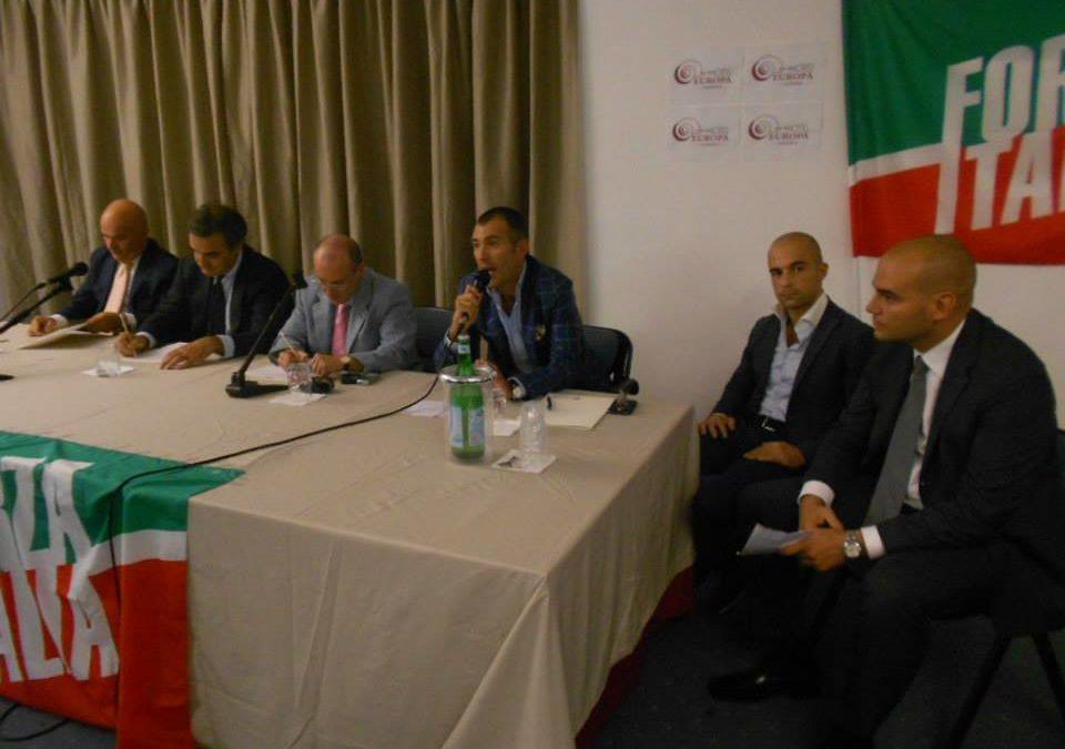 Presentazione Forza Italia Hotel Europa Caserta