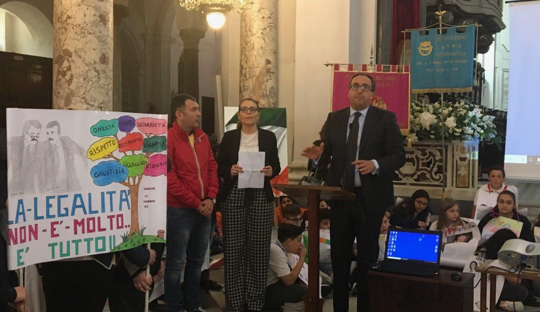 """""""Mille voci per la Legalità"""" successo di presenze all'evento di chiusura del progetto"""